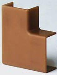 APM 40x17 Угол плоский, коричневый