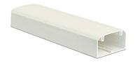 Кабель-канал 90х50мм, із фронтальною кришкою, довжина 2м, білий RAL 9016 ДКС [9501]