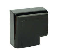 Угол плоский 110х50 мм, черный