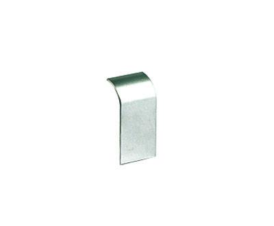 Накладка на стык профиля 110х50 мм, цвет серый металлик