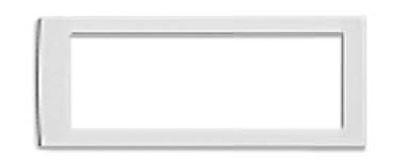 Рамка универсальная на 6 модулей, цвет серый металлик