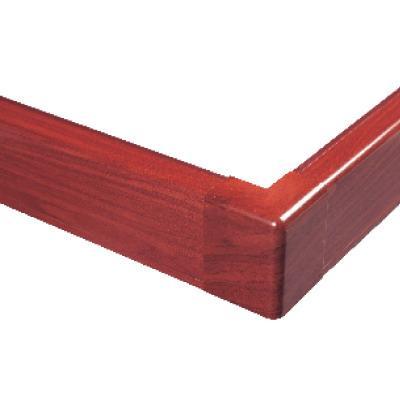 Внешний угол для плинтусного короба 100х40 мм (ламинированный под дерево)