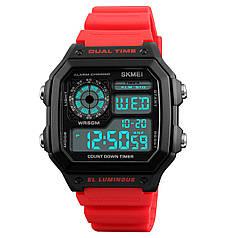 Мужские часы Skmei 1299 Red (3098-8694)