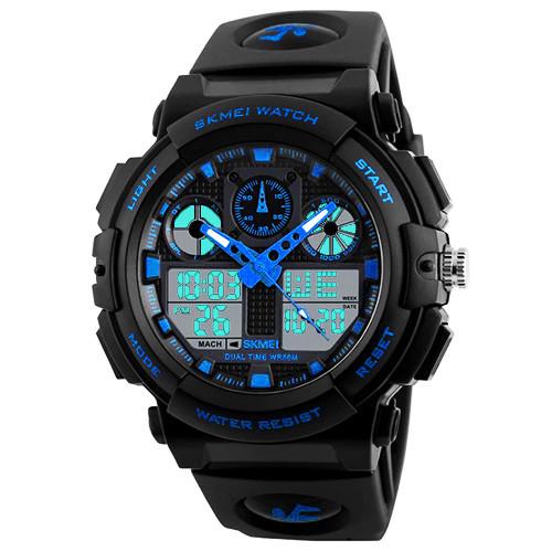 Часы наручные Skmei 1270 Синие (KD-05951S211)