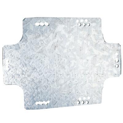 Монтажная пластина из оцинк. стали 270х198х1,5мм, для коробок 300х220мм