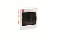 Щиток вбудований з дверцятами 4 модуля, IP40, колір білий RAL9016 [81504]