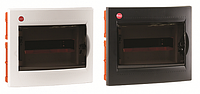 Щиток вбудований з дверцятами 12 модулів, IP40, колір білий RAL9016 [81512]