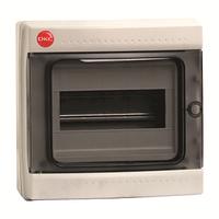 Щиток настен. с дверцей 8 мод.,IP65, серый