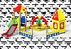 Песочный дворик «Крепость»