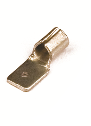 Наконечник плоский (вилка) 2,5-6 кв.мм 6,3х0,8 мм (РП-П)