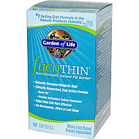 Жиросжигатель натуральный FucoThin Garden of Life 200 мг 180  капсул