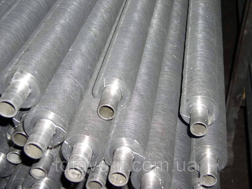 Труба оребренная труба  30 мм х2,5мм