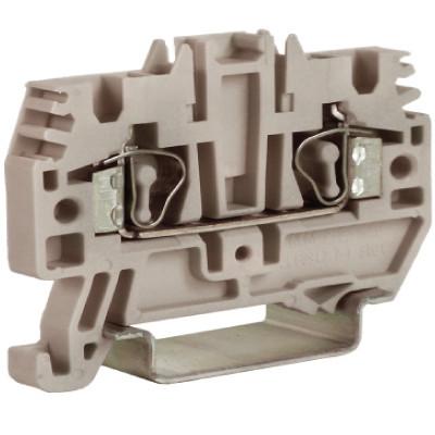 HMM.2GR(Ex), проходной зажим 2,5 кв.мм серый