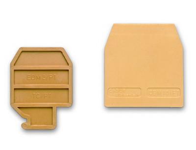 RP.4/PTGR, торцевой изолятор для RP.4/6 серый