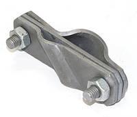 Діагональний з'єднувач стрижня d20мм і полоси до 40мм, сталь гарячого цинкування [NG3120]