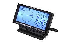 Автомобільний монітор Timloon 4 в 1 (годинник, компас, термометр, календар)