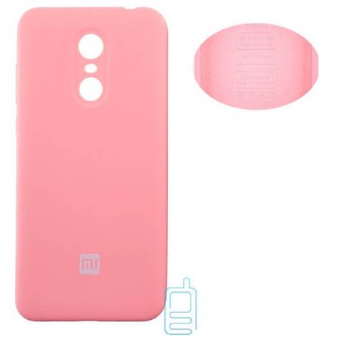 Чехол Silicone Cover Xiaomi Redmi 5 Plus розовый, фото 2