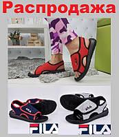 Женские босоножки Fila City Line. Повседневные сандалии Fila на платформе.