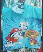 Пончо полотенце детское пляжное  с капюшоном AVENGERS FAST DRY, 55*110 СМ. 100%