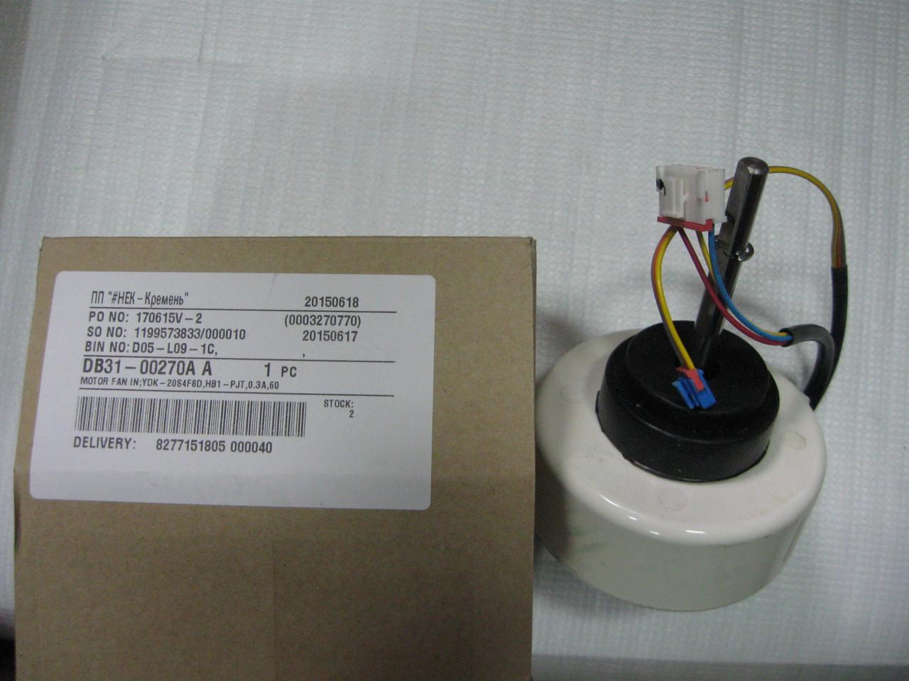 Мотор вентилятора наружного блока кондиционера Samsung DB31-00270A