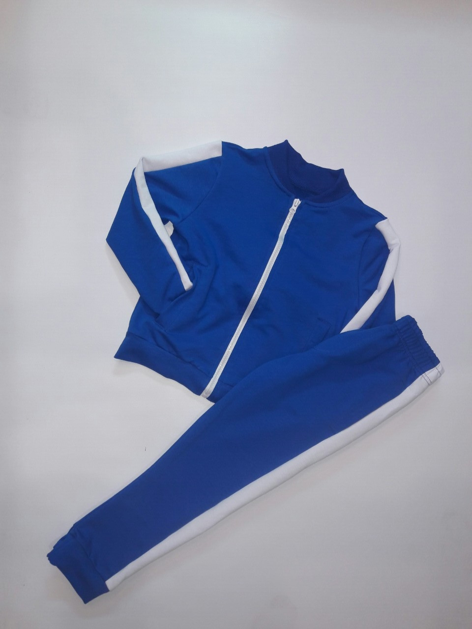 Спортивный костюм подростковый на молнии 116-140