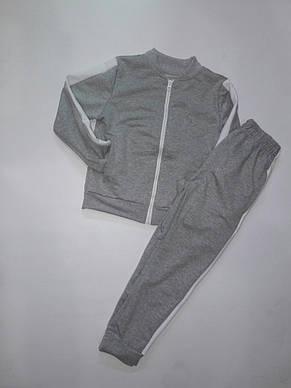 Спортивный костюм подростковый на молнии 116-140, фото 3