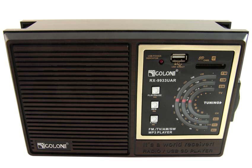 Портативный радио приемник Golon RX-9933