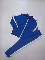 Спортивний костюм підлітковий на блискавці, р. 146, чорний (СКЛАД-1 шт)