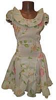 Платье летнее для девочки р. 34, 36, 38