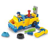 """Игрушка-конструктор Huile Toys """"Машинка с инструментами"""", фото 2"""