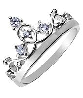 Кольцо в форме короны Диадема