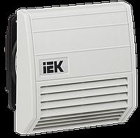 Вентилятор с фильтром 21 м3/час IP55 ІЕК [YCE-FF-021-55] ИЕК
