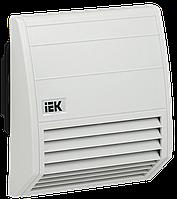 Вентилятор с фильтром 102 м3/час IP55 ІЕК [YCE-FF-102-55] ИЕК