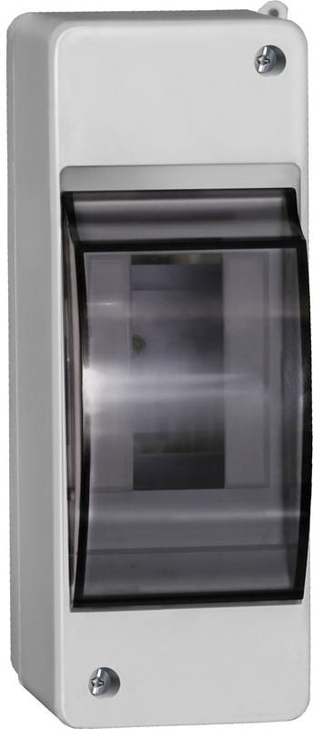 Бокс з прозорою кришкою КМПн 2/2 для 2-х автоматичних вимикачів зовнішньої установки ІЕК [MKP42-N-02-30-20]