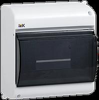 Бокс с прозрачной крышкой КМПн 2/4 для 4-х автоматических выключателей наружной установки ІЕК [MKP42-N-04-30-12] ИЕК