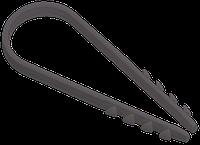 Дюбель-хомут 5х8мм нейлон чорний (100шт) ІЕК [UHH36-5-8-100]