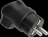 Вилка з боковим введенням ВБу3-1-0м IP44 ОМЕГА ІЕК [PKR01-U-016-2-K02]