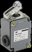 Вимикач кінцевий ВПК-2112-БУ2 важіль з роликом IP65 ІЕК [KV-1-2112-1]