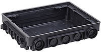 Коробка напольная ONFLOOR 12 модулей ІЕК [KNU-12-PA-9011] ИЕК