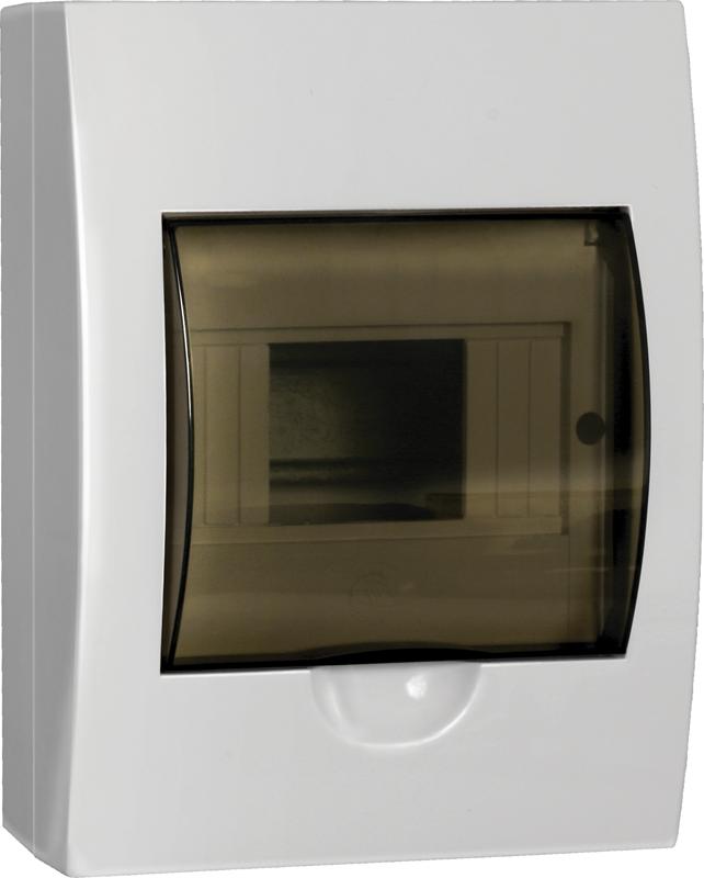 Бокс ЩРН-П-6 модулів навісний пластик IP41 LIGHT ІЕК [MKP12-N-06-40-20-L]