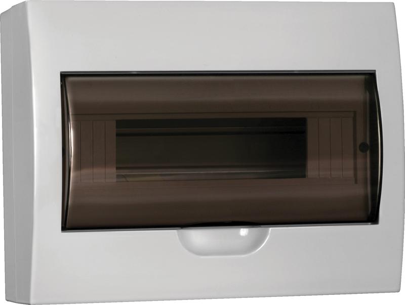 Бокс ЩРН-П-12 модулів навісний пластик IP41 LIGHT ІЕК [MKP12-N-12-40-10-L]