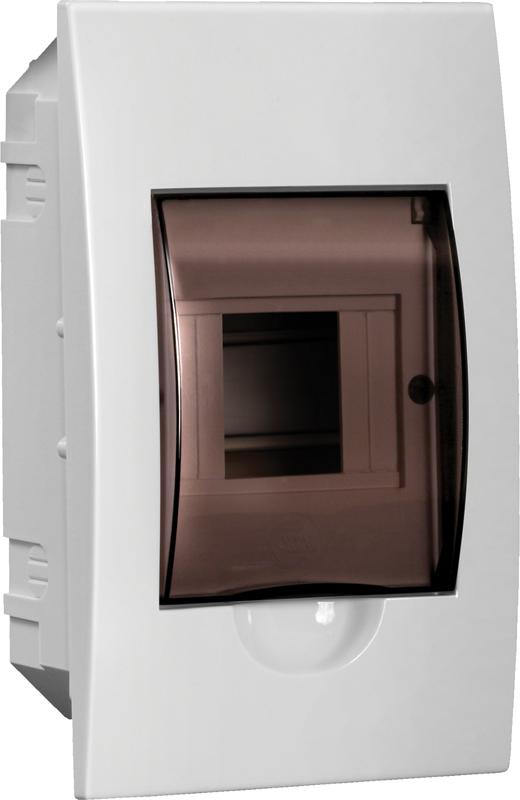 Бокс ЩРВ-П-4 модуля встраиваемый пластик IP41 LIGHT ІЕК [MKP12-V-04-40-20-L] ИЕК