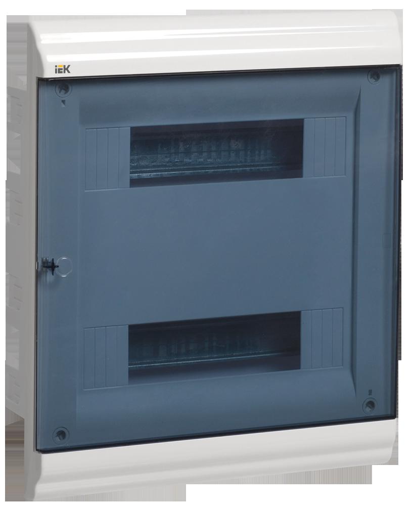 Бокс ЩРВ-П-24 модуля вбудовується пластик IP41 prime ІЕК [MKP82-V-24-41-10]