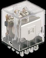 Реле промежуточное РЭК77/3(LY3) с индикацией 10А 12В DC ІЕК [RRP10-3-10-012D-LED] ИЕК