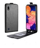 Чехол IETP для Samsung A10 2019 / A105F флип вертикальный PU черный