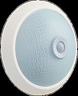 Светильник НПО3235Д 2х25 с датчиком движения белый ІЕК [LNPO0-3235D-2-025-K01] ИЕК