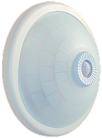 Светильник НПО3233Д 2х25 с датчиком движения белый ІЕК [LNPO0-3233D-2-025-K01] ИЕК