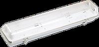 Світильник пиловологозахищений ЛСП3901А ABS/PS 2х18Вт IP65 ІЕК [LLSP2-3901A-2-18-K03]