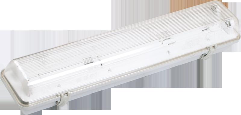 Світильник пиловологозахищений ЛСП3902А ABS/PS 2х36Вт IP65 ІЕК [LLSP2-3902A-2-36-K03]
