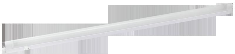 8w, 230v, IP20, T5/G5, 355 х 43 мм, ЕПРА, Світильник стельовий, ЛПО2001 ІЕК [ LLPO0-2001-1-08-K01]